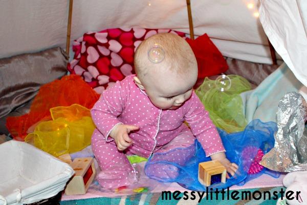 sensory den for babies