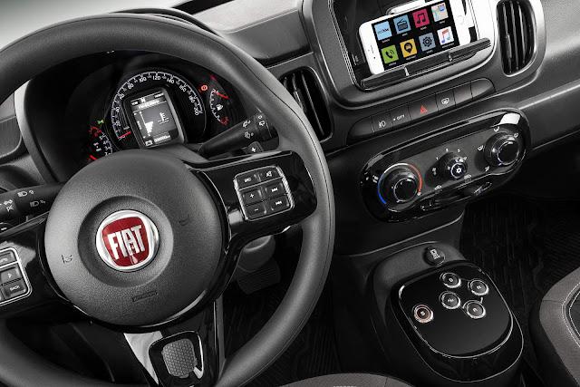Fiat Mobi GSR Automático para PcD