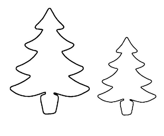 Gambar Mewarnai Pohon Cemara - 8