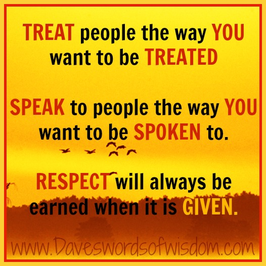 Treat people well #GaulInspiration Gaul Inspiration Pinterest - witness letter template