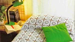Cubrecama de grannys crochet