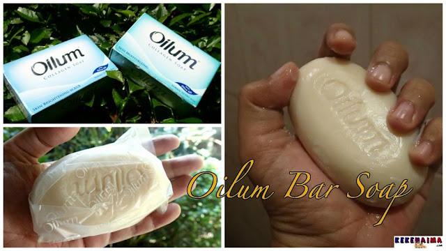 Oilum Collagen, Body wash, body lotion, soap bar, dry skin, kulit kering