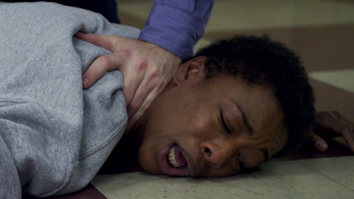Orange is the new black season 4 Netflix poussey death scene samira wiley