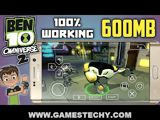 Ben 10 Omniverse 2 Highly Compressed ISO PPSSPP