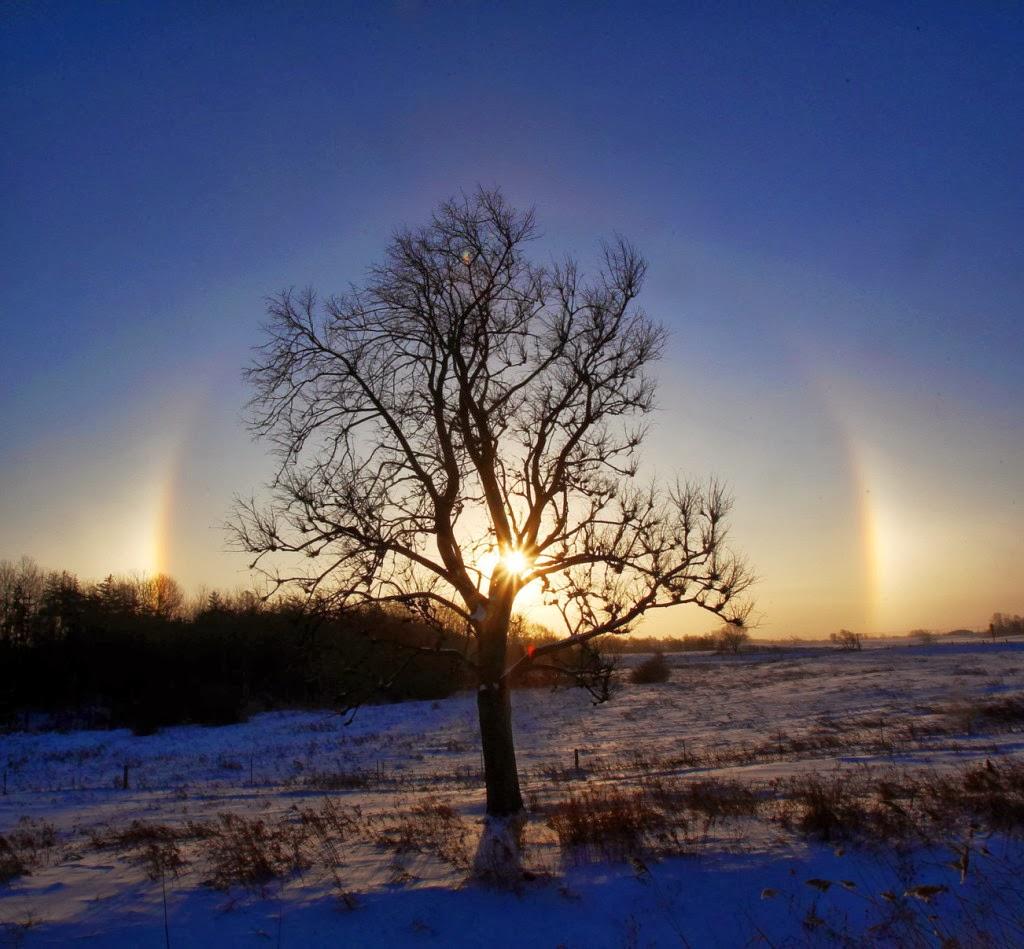 Rendhagyó fényjelenséget fotóztak a fagyos Észak-Amerikában