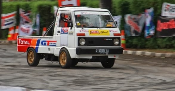 Modifikasi Mobil Hijet 1000 Pick Up
