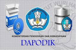 Perpanjangan Batas Akhir Sinkronisasi DAPODIK 2016/2017 Semester 2