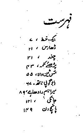 Chagat by Saadat Hasan Manto Urdu Afsanay and Stories PDF