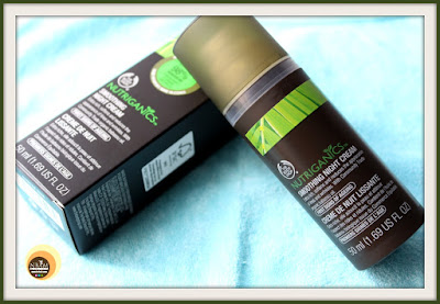 The Body Shop Nutriganics Smoothing Night Cream review