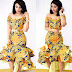 Lovely Ankara Gown Design for Ladies
