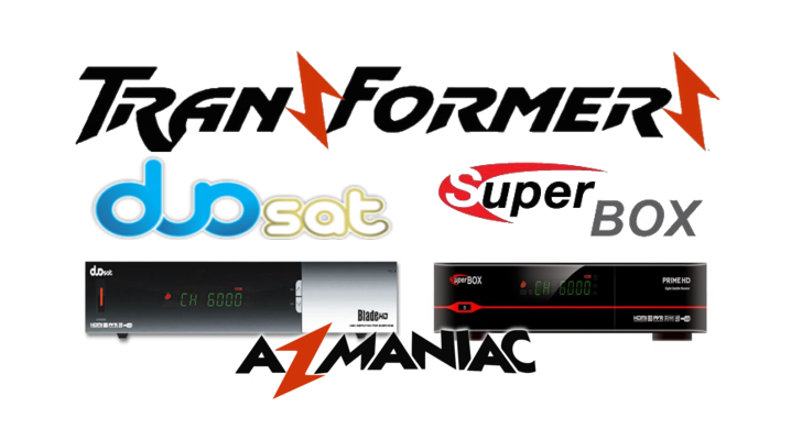 Superbox Prime HD Transformado em Duosat Blade HD