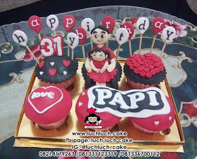 Cupcake Ulang Tahun Untuk Papi