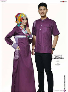 Baju Couple Lebaran 2019 Yang Trendy Dan Fasionable