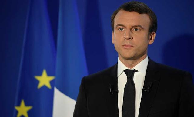 الرئيس الفرنسى إيمانويل ماكرون يرفض إجراء إتفاقية تجارية مع إنجلترا