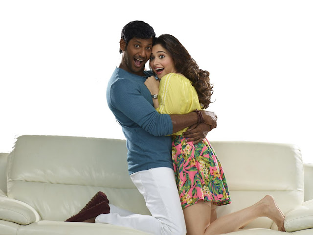 Tamanna hot stills from Kaththi Sandai Tamil Movie