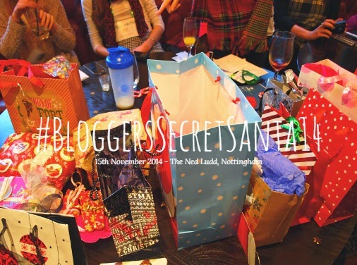 #BloggersSecretSanta14 - Ned Ludd Nottingham - Bloggers Event - Dino's Beauty Diary