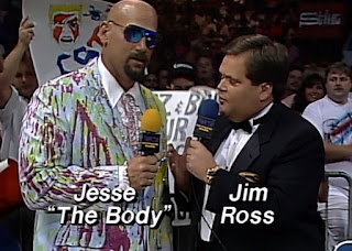 WCW Great American Bash 1992 - Jesse 'The Body' Ventura & Jim Ross