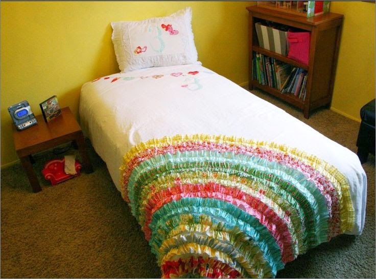 Decorate blanket for a child's room