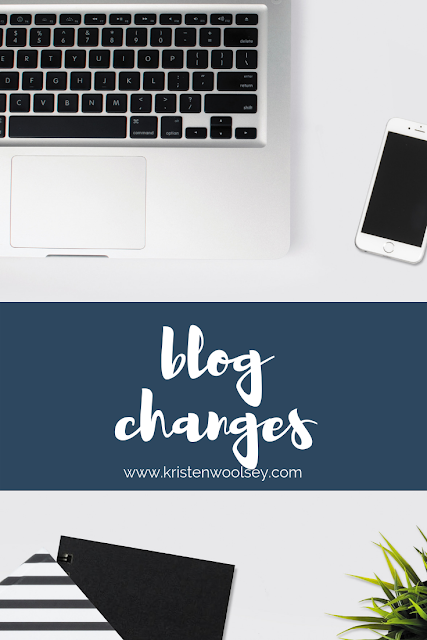 Changes to my Blog! www.kristenwoolsey.com