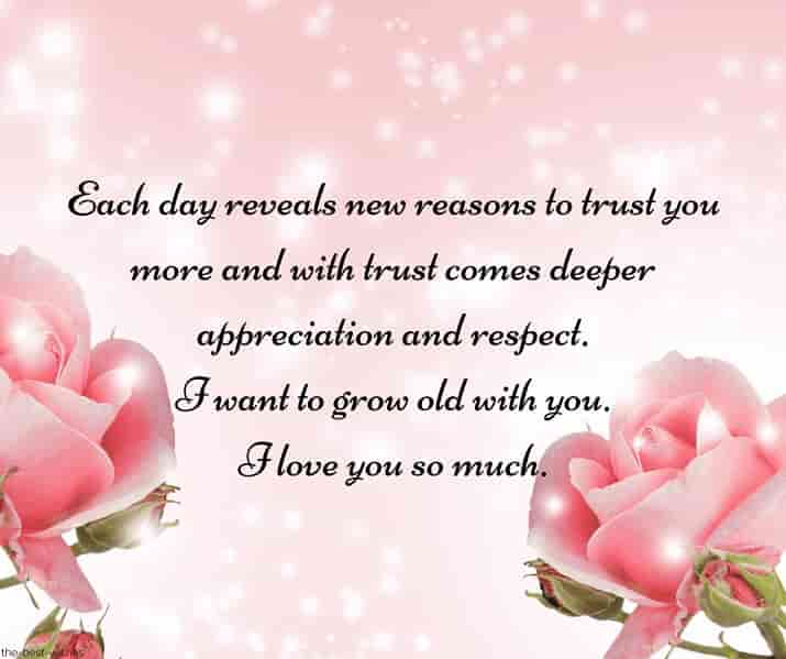 good morning cute message to him with rose image