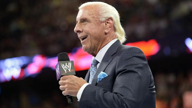 WWE: Mejora el estado de salud del legendario luchador Ric Flair