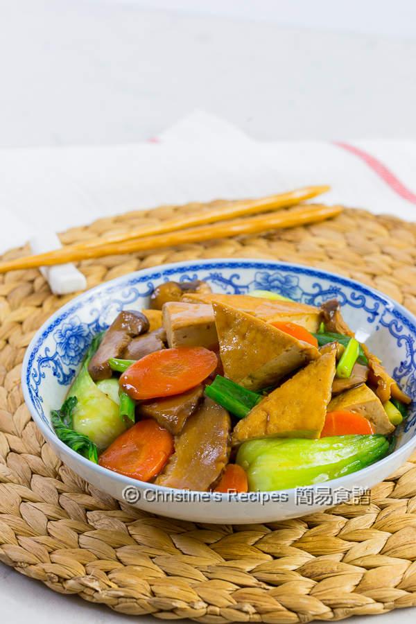 紅燒豆腐 Braised Tofu01