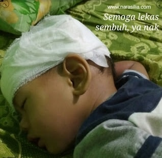 Merawat Luka Bocor Pada Kepala Anak