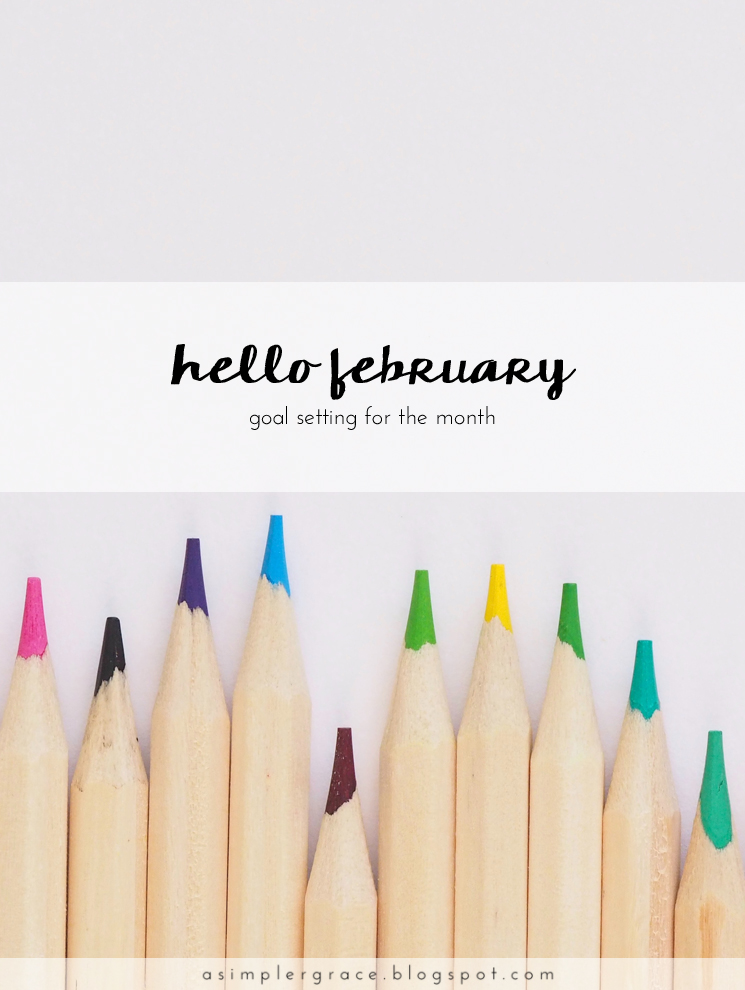 I'm starting the month with some good intentions and a few goals. What is a goal you've set for this month? #goals #goalsetting
