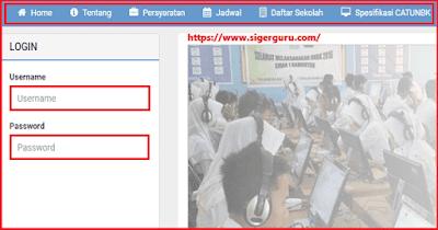 Cara Mendaftar UNBK 2019 SMP/MTs SMA/MA SMK (Computer Basis Test)