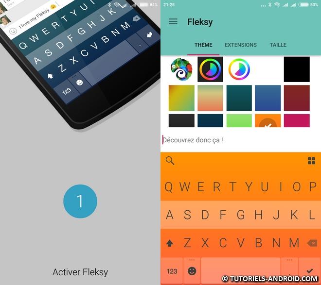 Flesky + Emoji Android
