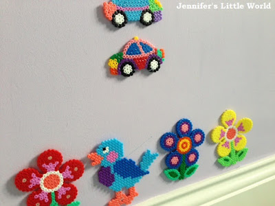 How to display your finished Hama bead projects