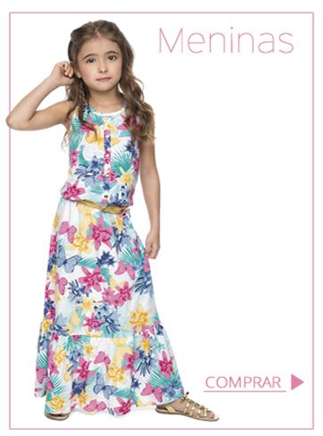 Moda infantil menina