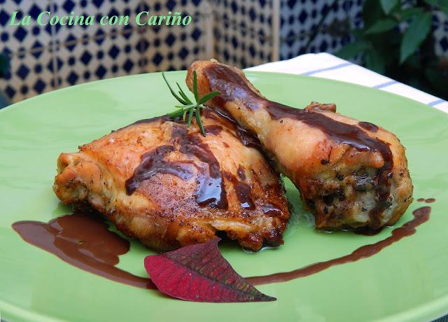 Pollo al horno con salsa de chocolate - Salsas para el pollo al horno ...