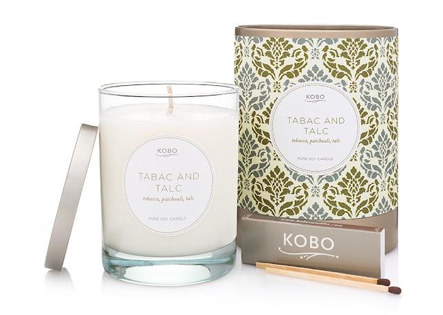 Avis Tabac and Talc de Kobo, blog bougie, blog parfum, blog beauté