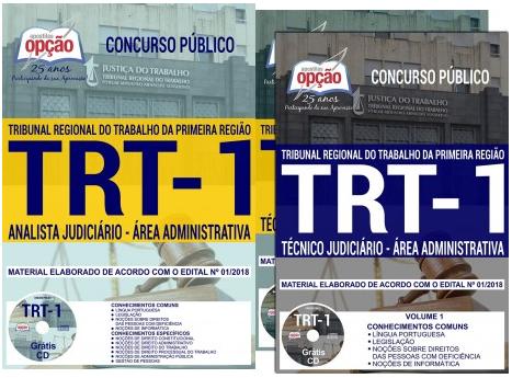 Apostila TRT RJ Técnico Judiciário 2018
