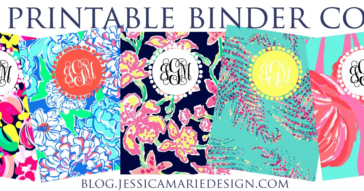 image relating to Free Binder Printables referred to as Jessica Marie Style and design Web site: Preppy Printable Binder Handles