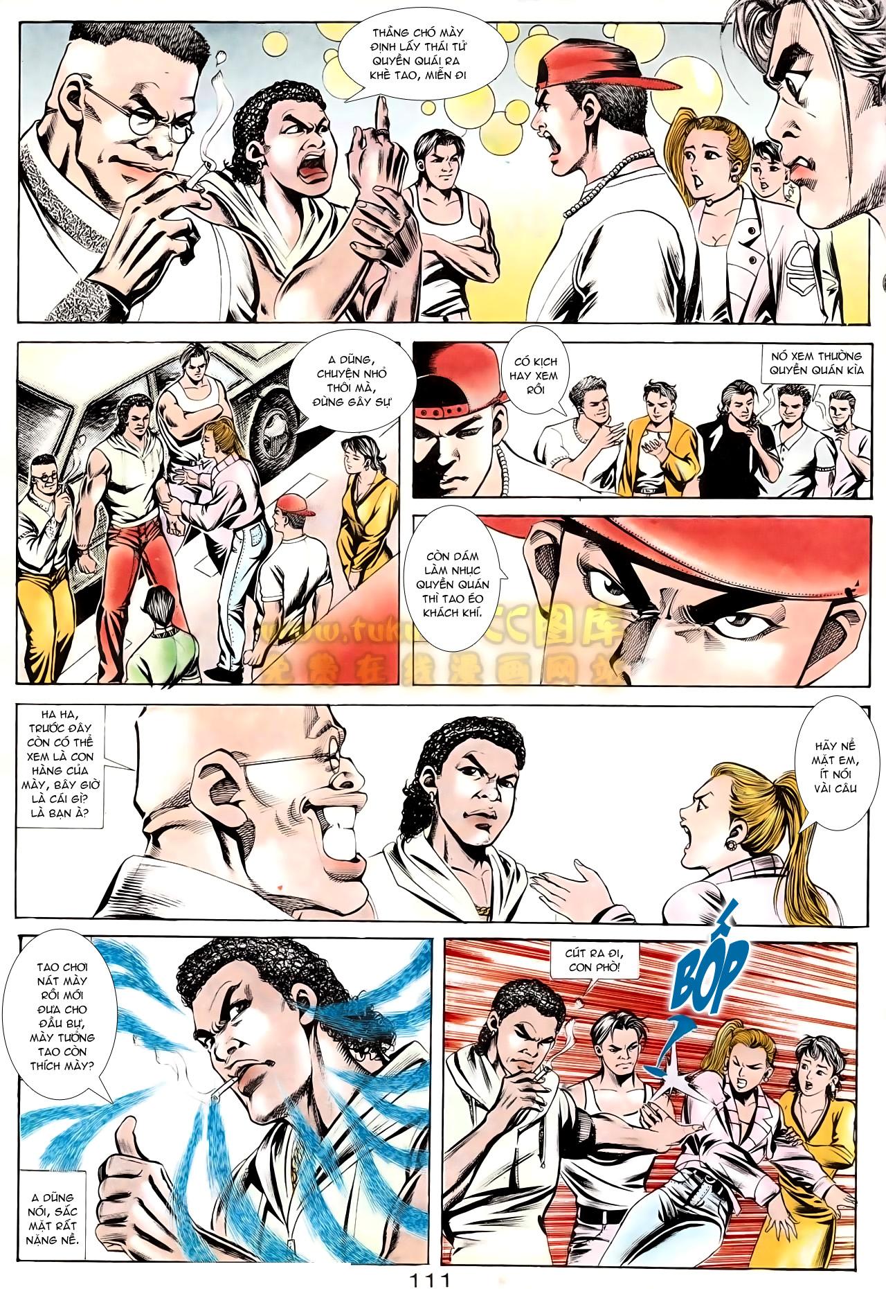 Người Trong Giang Hồ chapter 166: bùng nổ trang 20