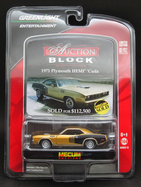 Diecast Hobbist Greenlight Auction Block - Series 15