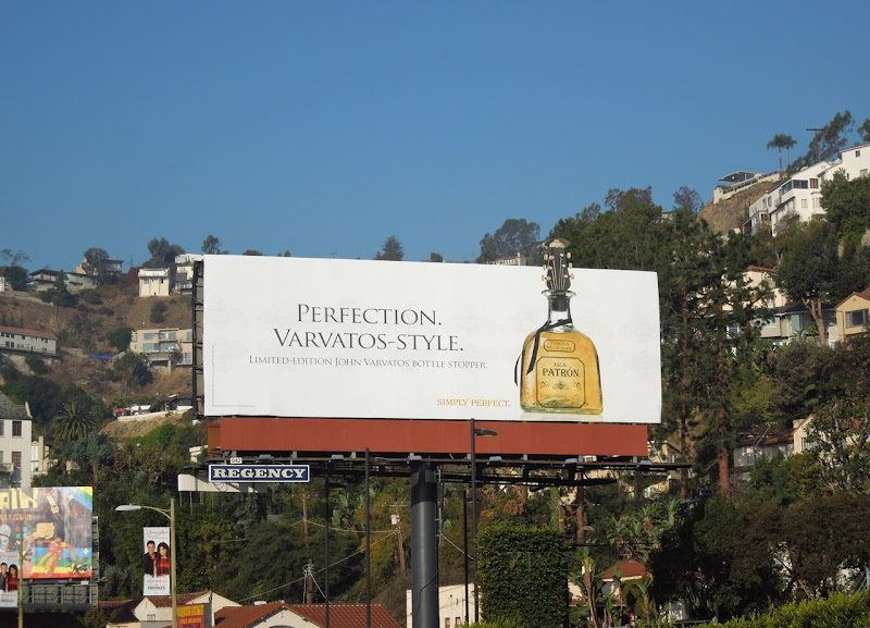 Patron Tequila John Varvatos special extension billboard