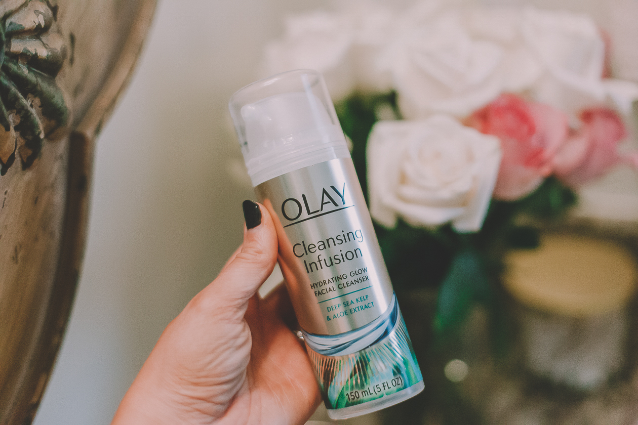 olay deep cleansing infusions, oil of olay cleanser, deep sea kelp cleanser, lifestyle blogger, xo samantha brooke, drugstore beauty finds, olay cleaners