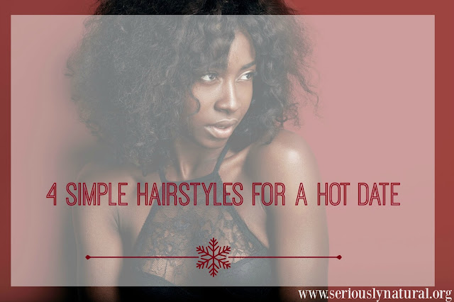 4 Simple Hairstyles for a Hot Date