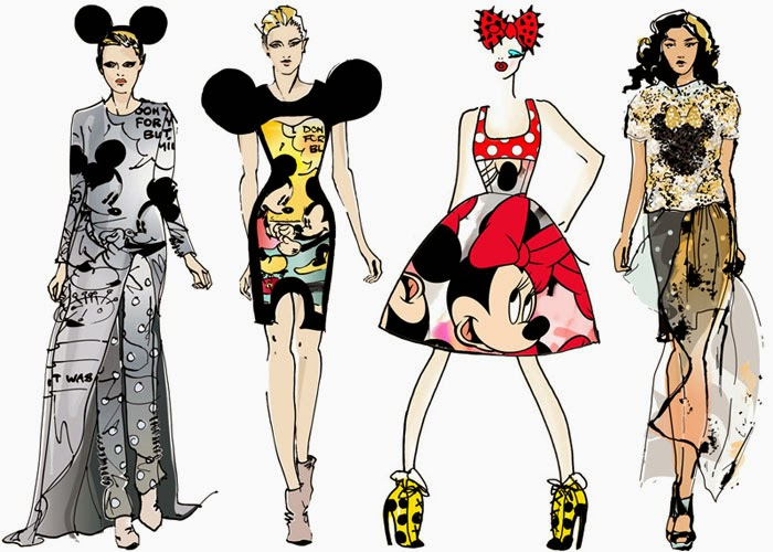 Moda Fashion Desenho