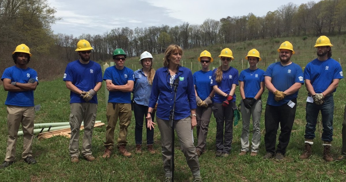 Pa environment digest blog dcnr pa outdoor corps plant for Pa fish for free days 2017