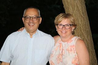Le ps teur Yves Vors et son épouse Laurie
