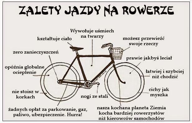 Dlaczego warto wsiadać na rower jak najczęściej...