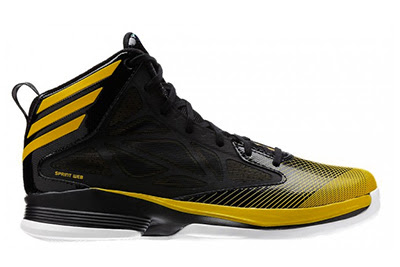 Adidas 'Crazy Fast' Yellow Black
