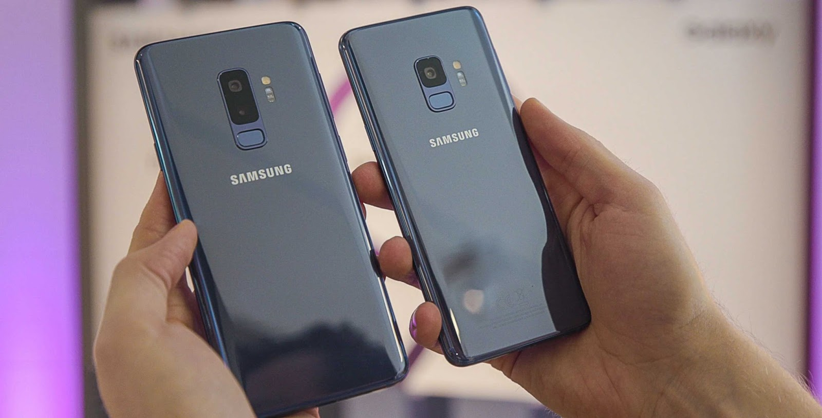 Samsung Galaxy S9 and S9 Plus (Back) Best Android Gaming Phones For 2018