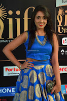 Madhu Shalini Looks Super Cute Slim trim Blue Choli Ghagra IIFA Utsavam Awards 009.JPG