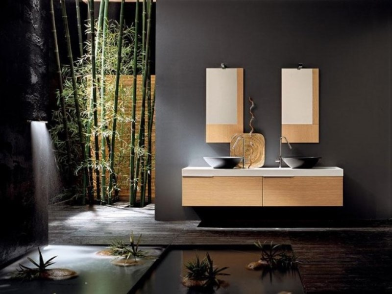 easy bamboo interior decoration. Designing a Bathroom with Natural Nuances in easy 3 simple steps