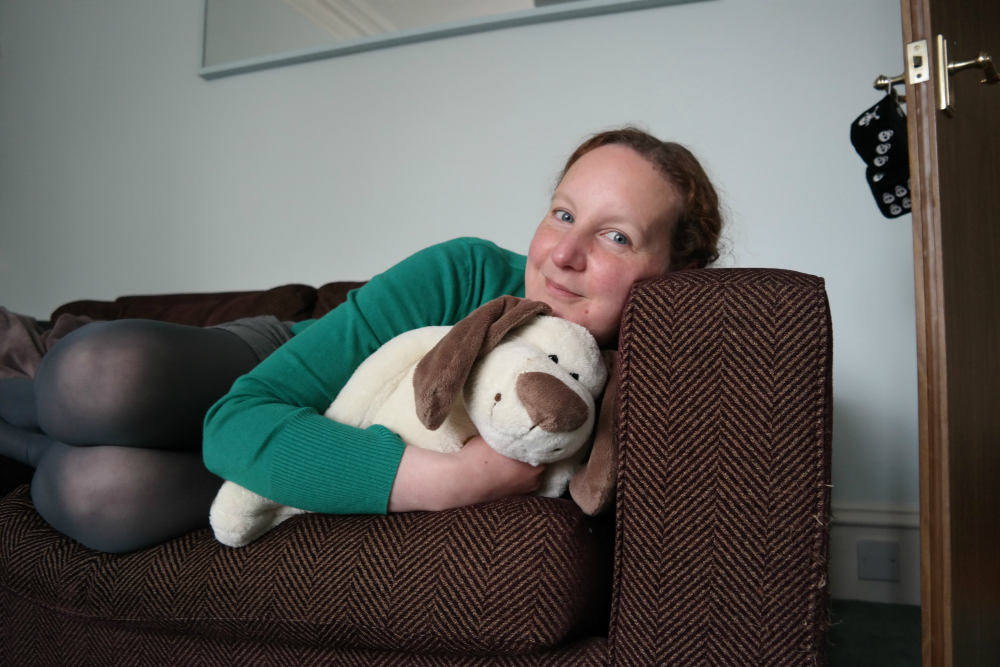 This Little Big Life: Me with toy dog